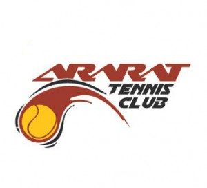 Ararat tennis club logo